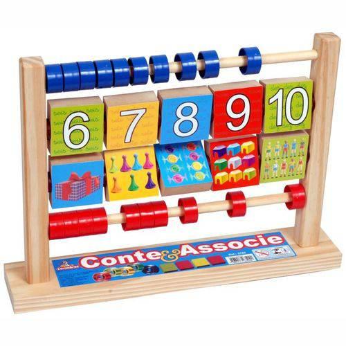 Conte & Associe- Carimbras- Brinquedo Educativo- Pedagógico