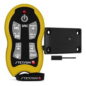 Controle a Distância Stetsom Alcance Control SX2 500 Metros Anti Cópia- Amarelo