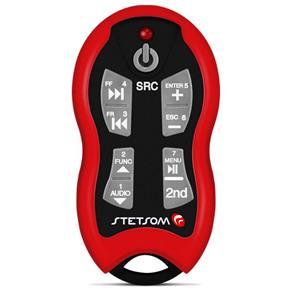 Controle Longa Distância Stetsom Sx-2 500 Metros Vermelho
