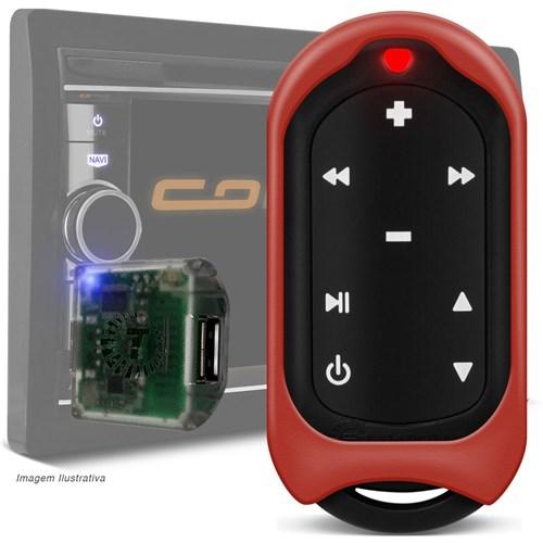 Controle Longa Distância Taramps Connect Control 300 Metros 16 Funções Vermelho