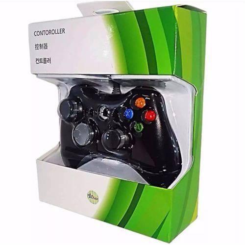 Tudo sobre 'Controle para Xbox 360 e Pc com Fio Joystick'