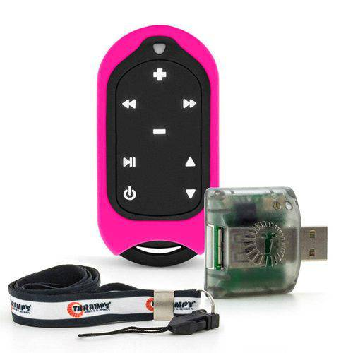 Controle Remoto de Longa Distância Taramps Connect Control - 300 Metros - 16 Funções - Pink