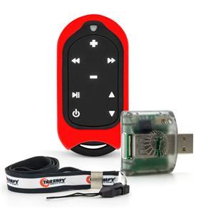 Controle Remoto de Longa Distância Taramps Connect Control - 300 Metros - 16 Funções - Vermelho