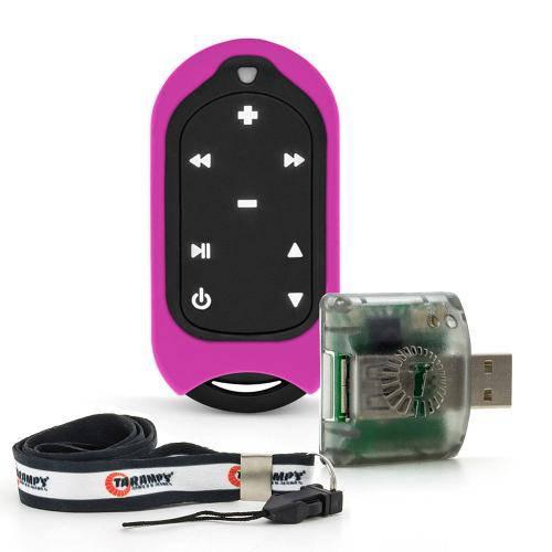 Controle Remoto de Longa Distância Taramps Connect Control - 300 Metros - 16 Funções - Violeta