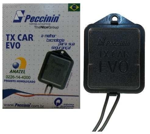 Tudo sobre 'Controle Remoto para Farol de Carro Tx Car Peccinin 433Mhz'