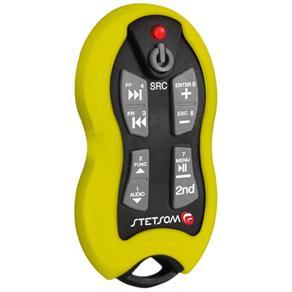 Controle Remoto Stetsom Sx2 16 Funções com Receptor - Amarelo