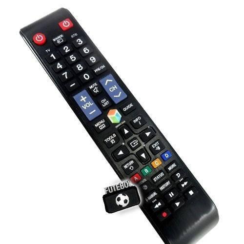 Controle Tv LCD Samsung Smart com Tecla Futebol, Aa59-00808A, Bn98-04428A, C01289