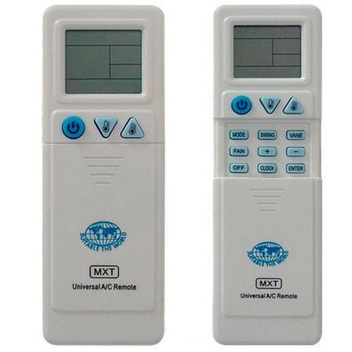 Tudo sobre 'Controle Universal para Ar Condicionado C01065 - Mxt'