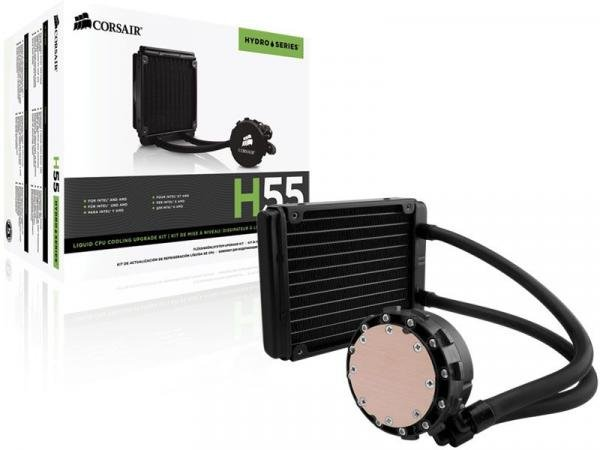 Cooler Corsair HYDRO H55 - CW-9060010-WW