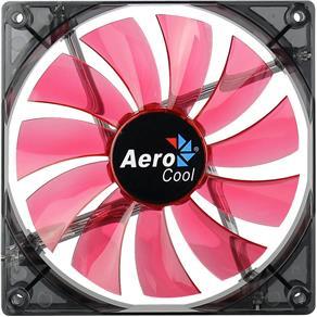Cooler Fan 14Cm Red Led En51370 Vermelho Aerocool