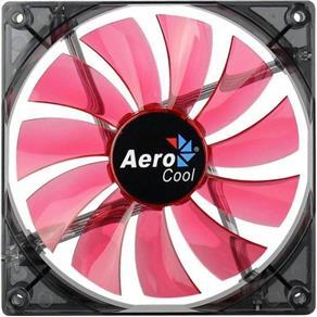 Cooler FAN 14CM RED LED Vermelho Aerocool