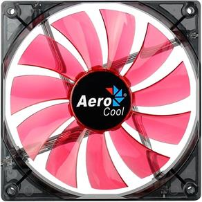 Cooler Fan Lightning 14cm Vermelho Red Led Aerocool