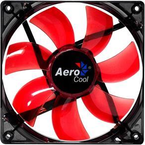 Cooler Fan Lightning 12cm Vermelho RED LED Aerocool