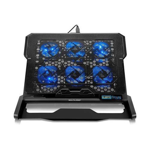 Cooler para Notebook 6 Fans Led Multilaser