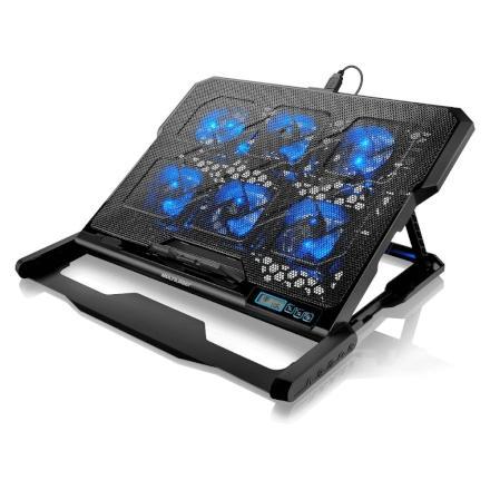 Cooler para Notebook Hexa Cooler Até 17 Multilaser - AC282
