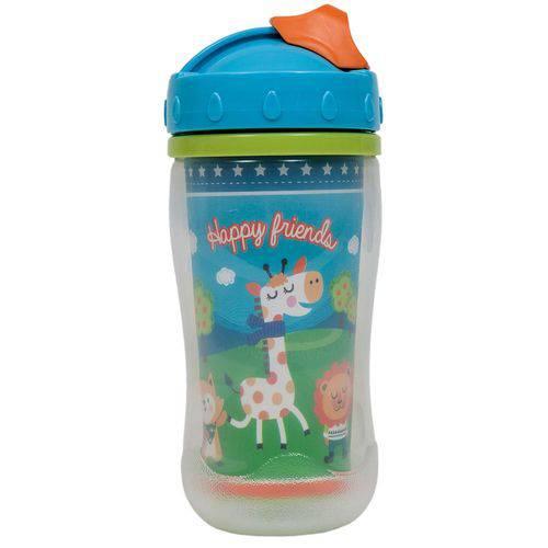 Copo 320ml com Tampa Happy Friends - Buba Toys