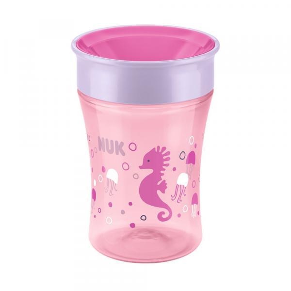Copo Antivazamento 360 - Magic Cup - 250 Ml - Girl - Rosa - Nuk