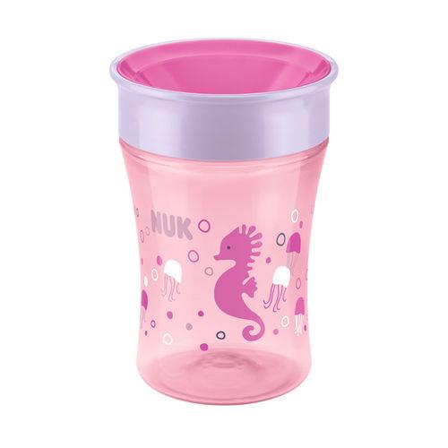 Copo Antivazamento 360° - Magic Cup - 250 Ml - Girl - Rosa - Nuk