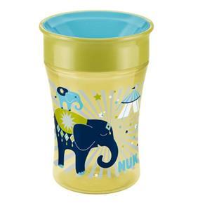 Copo Antivazamento Magic Cup 360º Amarelo e Azul Nuk 250 Ml