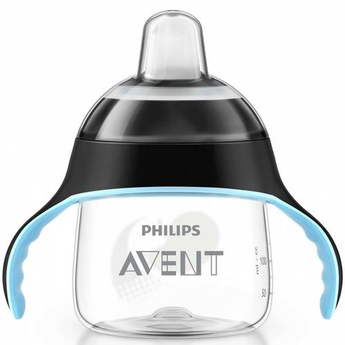 Copo Antivazamento Pinguim 200Ml Preto - Philips Avent