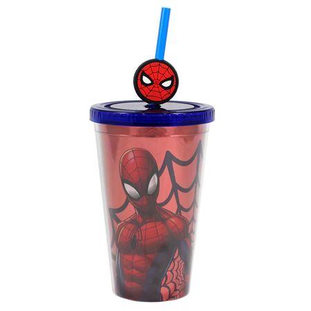 Tudo sobre 'Copo Canudo Homem Aranha'