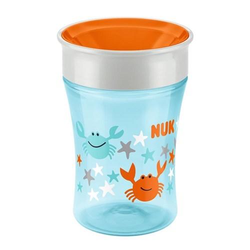 Copo de Treinamento Nuk Magic Cup 360° Azul 230Ml Pa750082-Ub