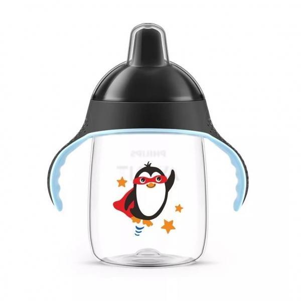 Copo Pinguim 340ml Preto - Philips Avent