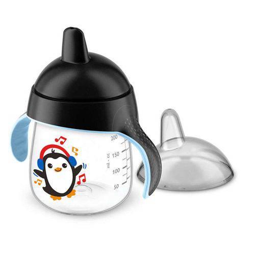 Copo Pinguim 260ml Preto Philips Avent