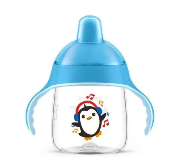 Tudo sobre 'Copo Pinguim Azul 260 Ml Avent'