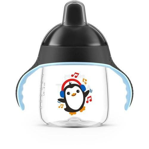 Copo Pinguim - Philips Avent - 260ml 12m+ Preto