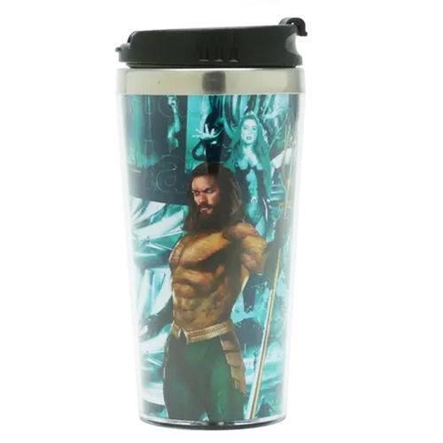 Tudo sobre 'Copo Termico Dc Aquaman o Mar te Chama 500ml'