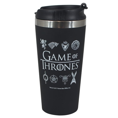 Tudo sobre 'Copo Viagem Game Of Thrones'