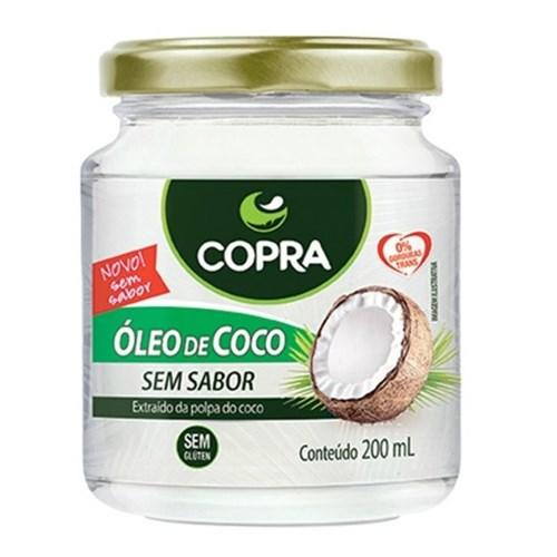 Copra Óleo de Coco 200Ml Sem Sabor