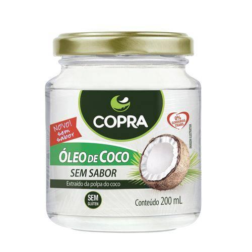 Copra Oleo de Coco Sem Sabor 200ml