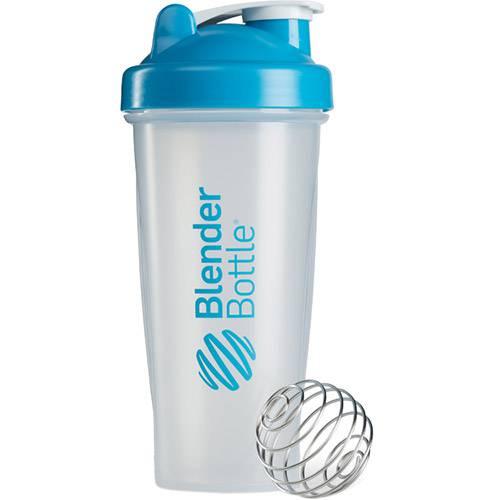 Coqueteleira Blender Bottle 28oz - 830ml - Azul Aqua