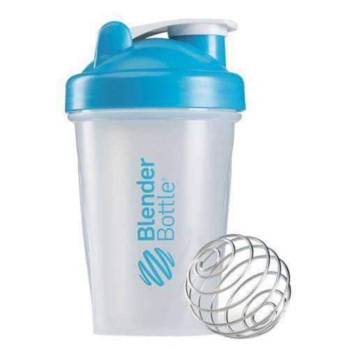 Coqueteleira Blender Bottle Classic 20oz -590 Ml Azul Aqua