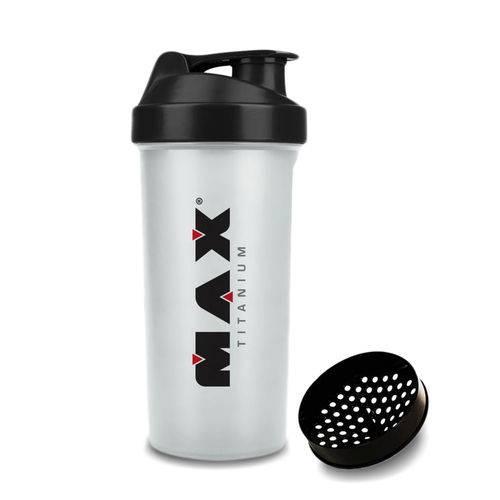 Coqueteleira Max Titanium - 700 Ml Transparente
