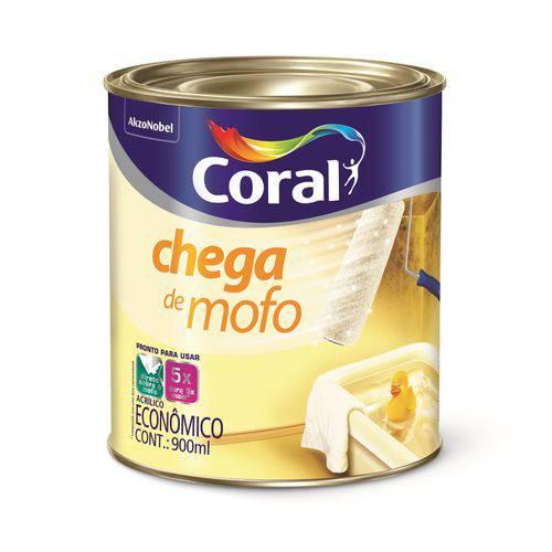 Tudo sobre 'Coral Acrílico Chega de Mofo 0,9 Litro'