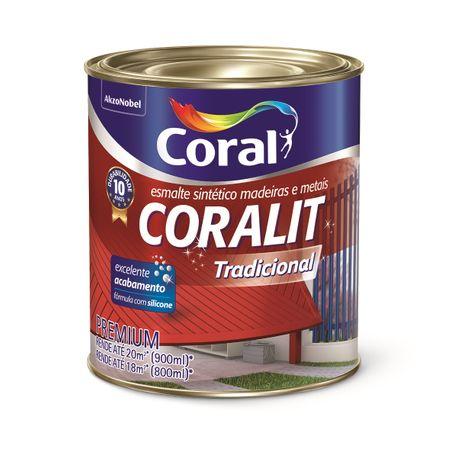 Coral Coralit Ultra Resistência Acetinado 0,9 Litro Branco