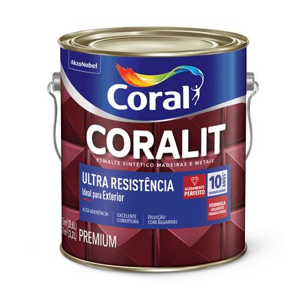 Coral Coralit Ultra Resistência Brilho 3,6 Litros Branco