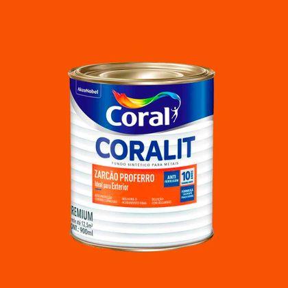 Coralit Fundo Zarcão Proferro 900 Ml
