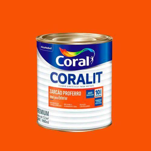 Coralit Fundo Zarcão Proferro Antioxido 900 Ml