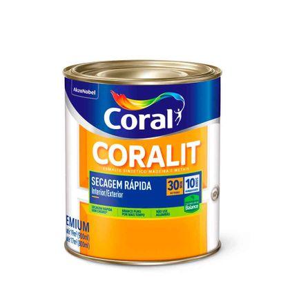 Coralit Secagem Rápida Balance Base D'Agua 900ml - Escolha a Cor Branco 900ml