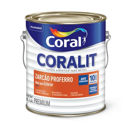Coralit Zarcão Proferro Zarcoral 3,6 Litros 3,6 Litros