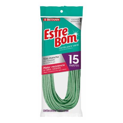 Tudo sobre 'Corda para Varal 15m Esfrebom Bettanin'