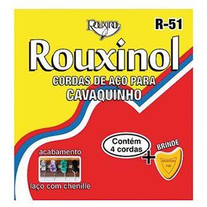 Cordas de Aço para Cavaquinho Tradicional com Chenille R51