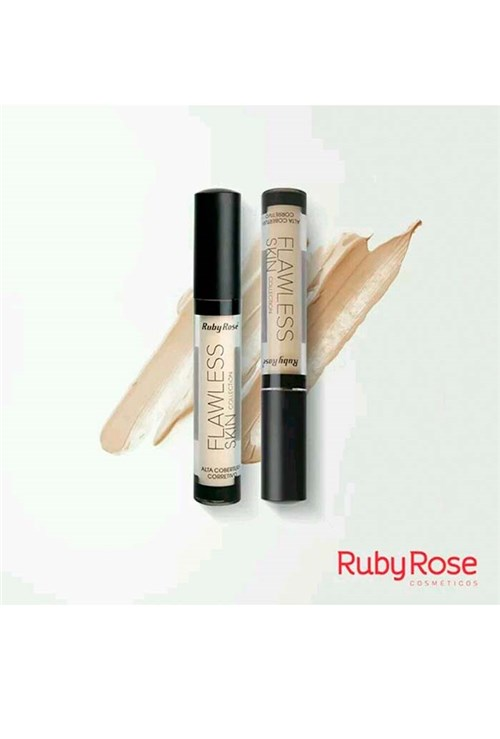 Corretivo Líquido Flawless Skin Ruby Rose - 8294