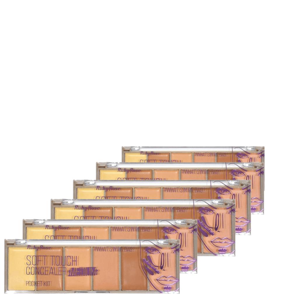 Corretivo Pocket Concealer Light Ruby Rose - Box 12 Unidades