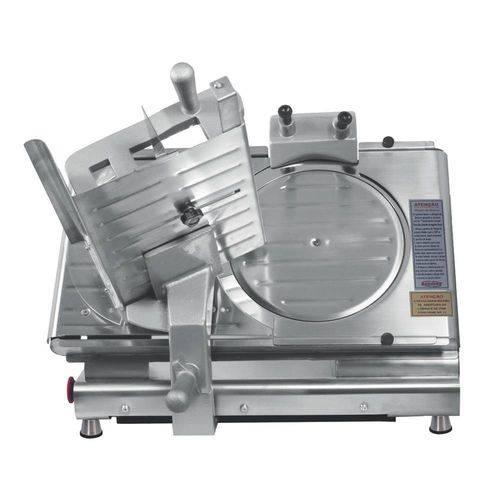 Cortador de Frios M19nrpf Semi Automático Inox Lâmina 300mm C/ Chave Seletora Bivolt - Bermar