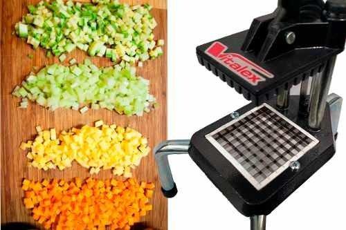 Tudo sobre 'Cortador Picador de Legumes Batata Palito e Frutas'